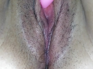 Her Cum dripped from her pussy just great!